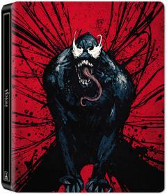Venom (Blu-Ray Disc ) 2D++ bonus disc Steelbook -editie limitata International Keyart Version / Venom