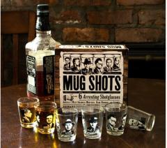 Set 6 pahare pentru shot - Mug Shots, 60 ml