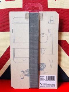 Suport elastic pentru carnet - Tidy - Charcoal