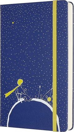Agenda 2020 - Moleskine Limited Edition Le Petit Prince 12-Month Daily Notebook Planner - Planet, Large, Hard cover