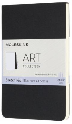 Carnet pentru schite - Moleskine - Art Pocket Sketch Pad Black