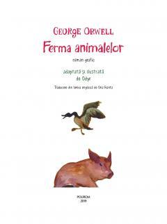 Ferma animalelor (roman grafic)