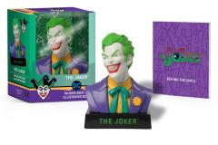 Joker Talking Bust and Illustrated Book
