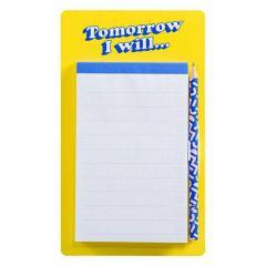 Lista magnetica pentru frigider - Tomorrow i will