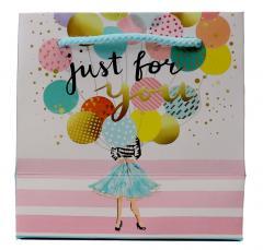 Punga de cadou mica - Birthday Balloons