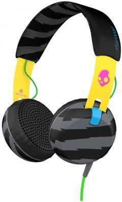 Casti Skullcandy Grind On Ear - Yellow / Black