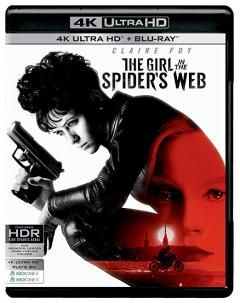 Prizoniera in panza de paianjen / The Girl in the Spider's Web (4K Ultra HD + Blu-ray Disc)