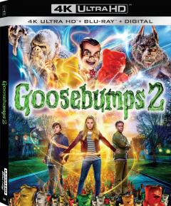 Iti facem parul maciuca! 2 / Goosebumps 2 (4K Ultra HD + Blu-ray Disc)