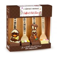 Ciocolata calda - Printemps avec sujets assortis