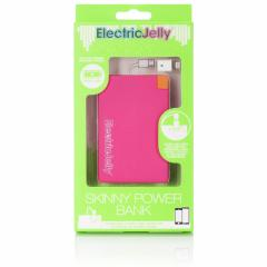 Baterie externa -Electric Jelly Lightning - Pink