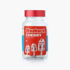 Set 6 gume de sters - Cherry Milk Carton
