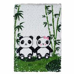Carnet - Panda Sequin