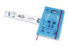 Agenda - Moleskine Limited Edition Alice in Wonderland 2020 18-Month Weekly Large Diary: Blue