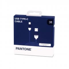 Cablu USB C - Pantone - Navy Blue