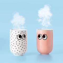 Cana - Googly Eyes Double Wall Mug Pink