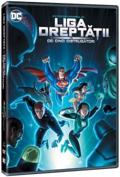 Liga Dreptatii vs Cei cinci distrugatori / DCU: Justice League vs The Fatal Five