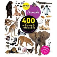 Animale. 400 de autocolante refolosibile
