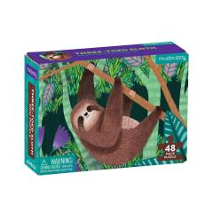Mini Puzzle - Three-Toed Sloth