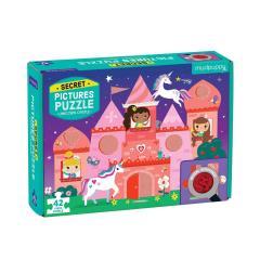 Puzzle 42 piese - Secret - Unicorn Castle