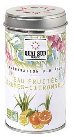 Arome de fructe - Preparation Bio pour eau fruitee agrumes citronnelle