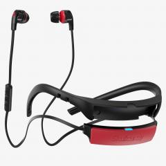 Casti Skullcandy Smokin Buds 2 Wireless - Black / Red