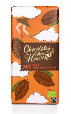 Ciocolata neagra - Chocolates from Heaven - Bio