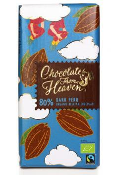 Ciocolata neagra - Chocolate from Heaven. Peru Bio