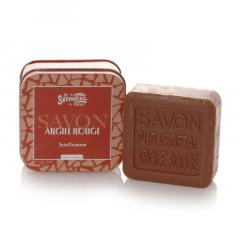 Sapun in cutie metalica, 100 g - Argile Rouge