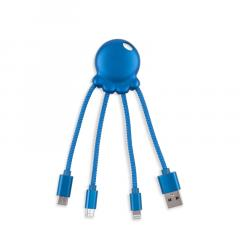 Adaptor - Octopus Power 2 All-in-one Adaptor Metallic Blue