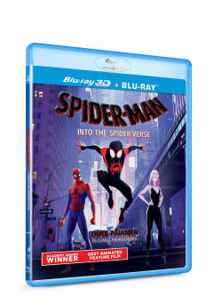 Omul-Paianjen: In lumea paianjenului Blu-Ray Disc) 2D+3D / Spider-Man: Into the Spider-Verse