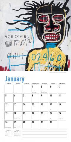 Calendar 2020 - Jean-Michel Basquiat