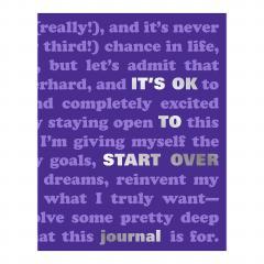 Jurnal- It's OK to Start Over