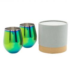 Set 2 pahare tip tumbler - Oil Slick
