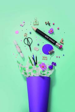 Creion negru XXXL - Big Ideas