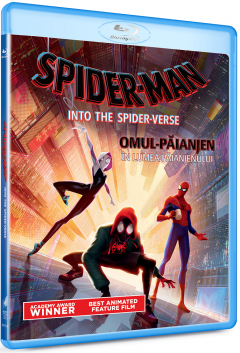 Omul-Paianjen: In lumea paianjenului / Spider-Man: Into the Spider-Verse (Blu-Ray Disc)