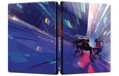Omul-Paianjen: In lumea paianjenului / Spider-Man: Into the Spider-Verse (Blu-Ray Disc 2D+3D, Steelbook Trio Editie limitata)