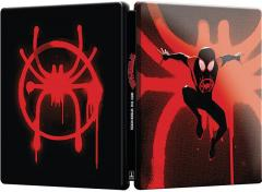 Omul-Paianjen: In lumea paianjenului / Spider-Man: Into the Spider-Verse (Blu Ray Disc + DVD, Best Buy Steelbook editie limitata)
