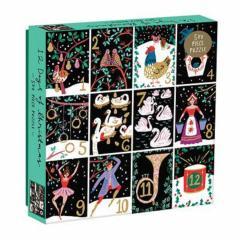Twelve Days of Christmas 500 Piece Puzzle