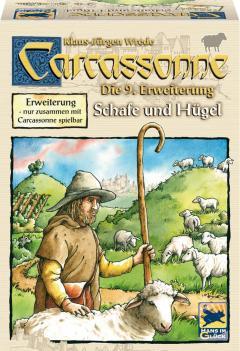 Joc de societate - Carcassonne, extensia 9, Dealuri si oi