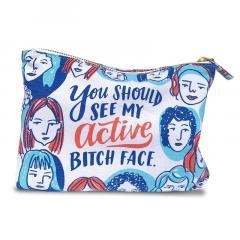 Geanta pentru cosmetice - Active Bitch Face