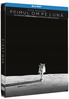 Primul om pe luna / First Man (Blu-Ray Disc Steelbook)