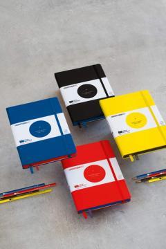 Carnet - Bauhaus - Red