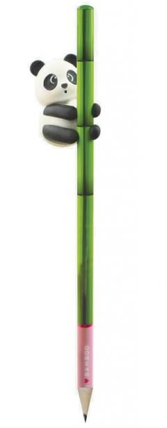 Creion cu radiera - Panda - I Love Bamboo