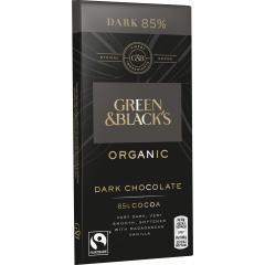 Ciocolata - 85% Cocoa Dark Chocolate, Organic 90g