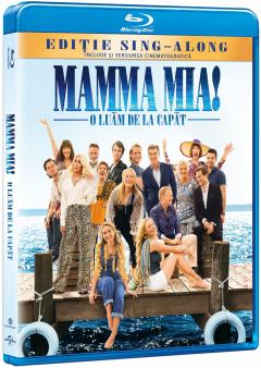Mamma Mia! 2 - O Luam De La Capat / Mamma Mia! 2 - Here We Go Again (Blu Ray Disc)