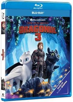 Cum sa-ti dresezi dragonul 3 / How to train your Dragon 3 (Blu-Ray Disc)