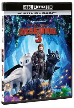 Cum sa-ti dresezi dragonul 3 / How to train your Dragon 3 (4K Ultra HD + Blu-Ray Disc)
