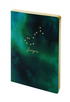 Carnet - Constellation - Scorpio