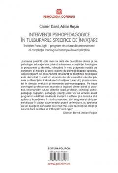 Interventii psihopedagogice in tulburarile specifice de invatare