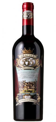 Vin rosu - 555, Legendary Dracula, Feteasca Neagra, 14%, sec, 2016